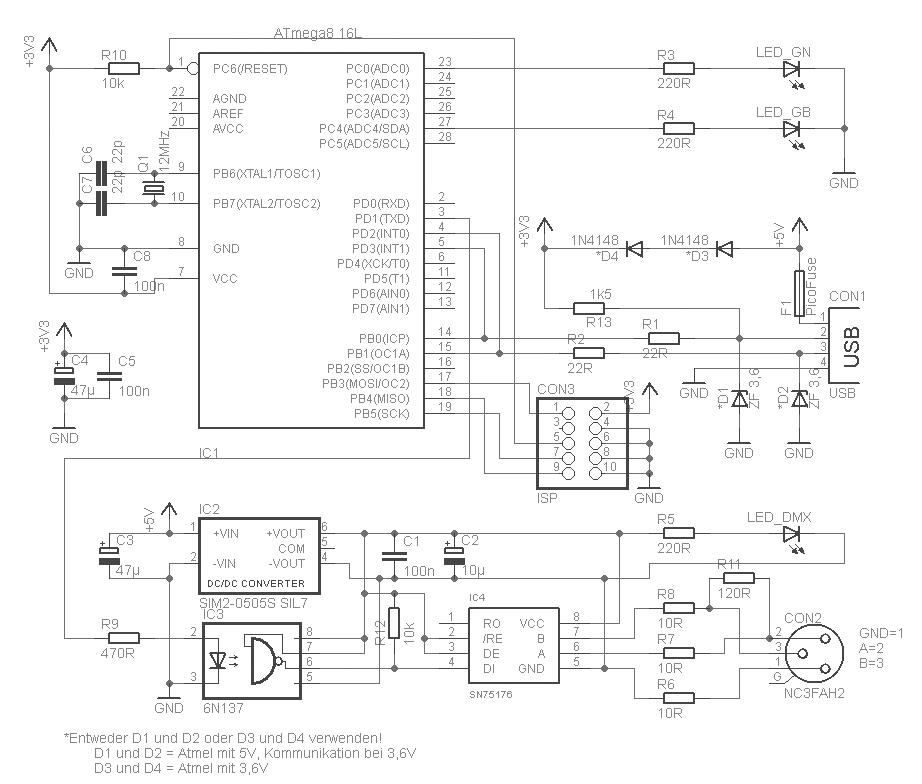 Usb-dmx контроллер своими руками 15